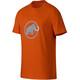 Mammut Logo T-Shirt Men dark orange-marine